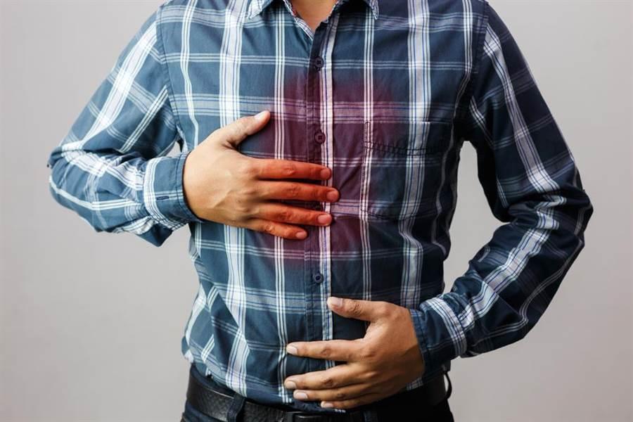 據衛福部統計,國人每四人就有一人患有胃食道逆流。(圖/達志影像)