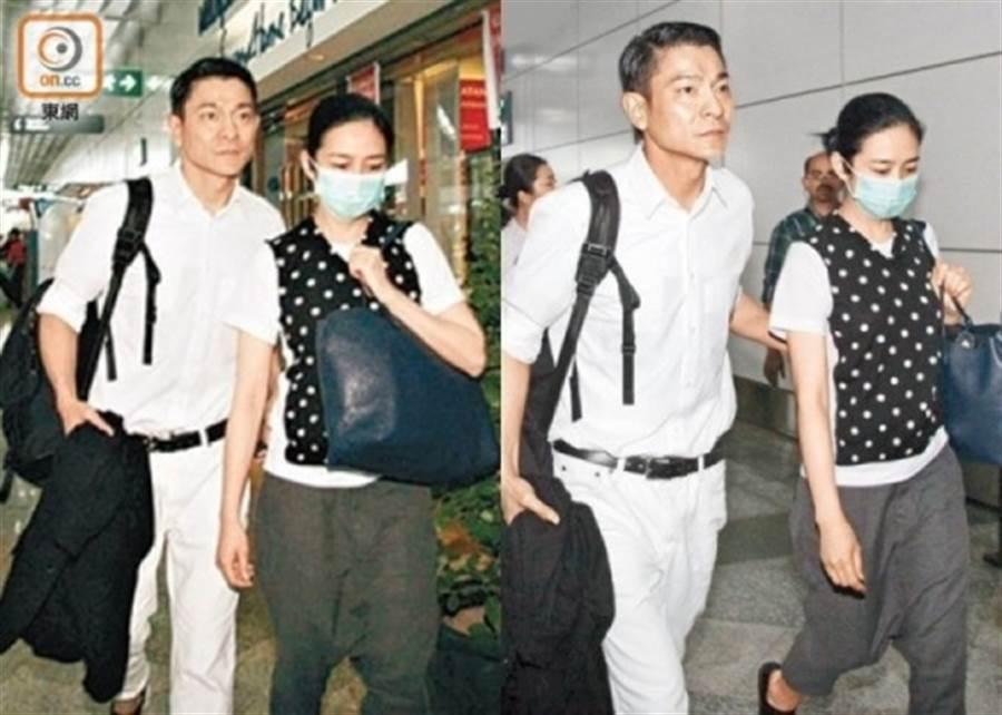 劉德華和朱麗倩結婚11年。(圖/取自《on.cc東網》)