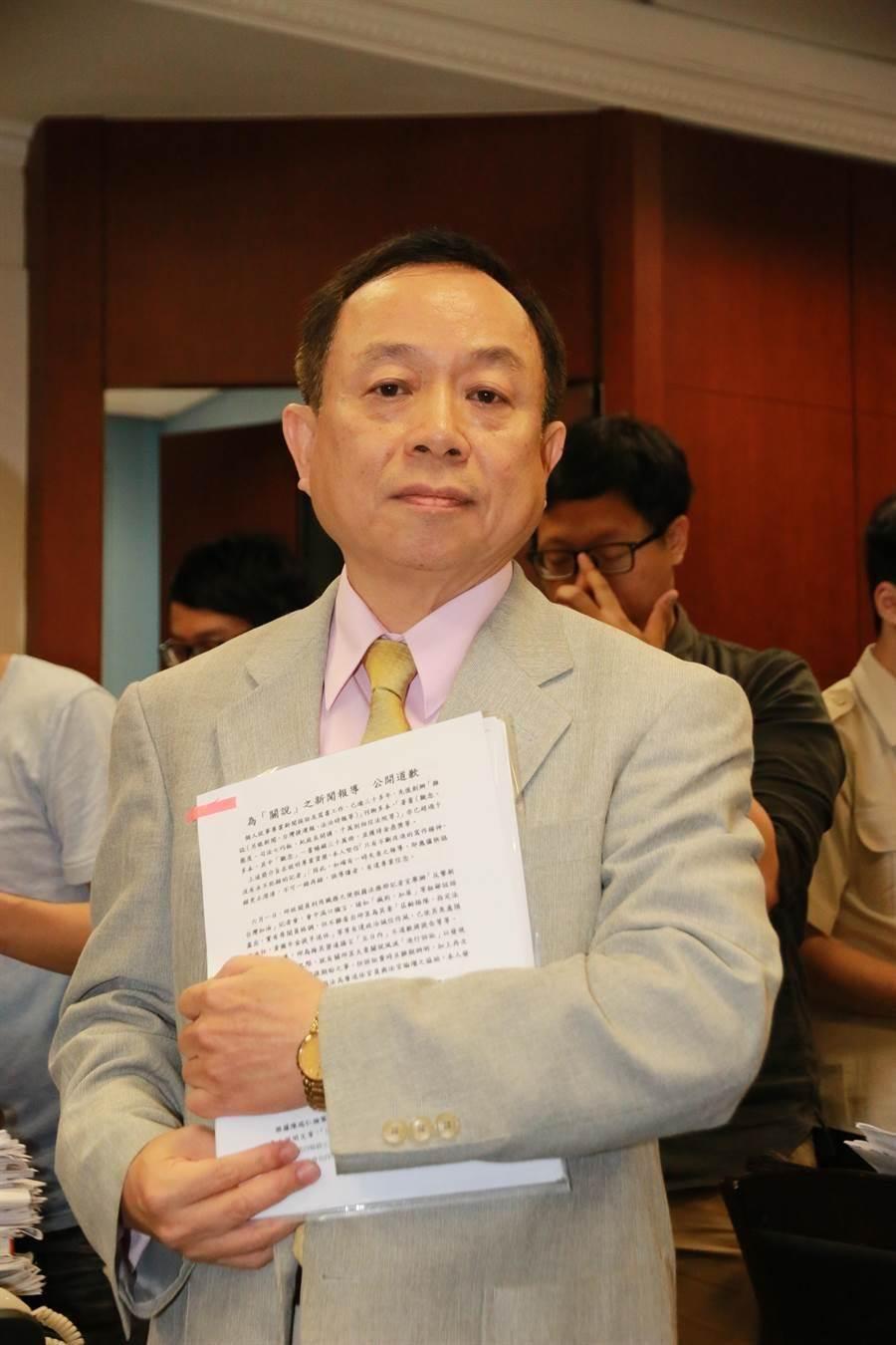 《法治時報》社長黃越宏。(資料照片)