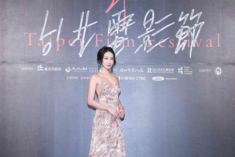 李亦捷主演的電影《野雀之詩》可惜未獲獎。(羅永銘攝)