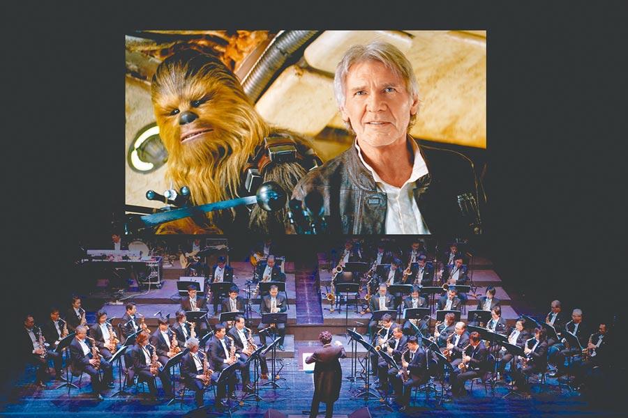 《星際大戰》電影音樂會將來台演出,電影精采片段加上現場交響樂團演奏,讓影迷重溫星戰魅力。(牛耳藝術提供)