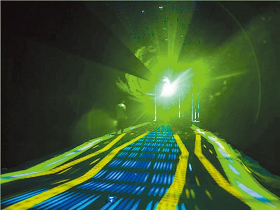 黑科技展入口的星空隧道。(創新周官方供圖)
