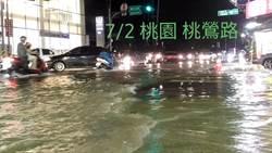 詹江村號召貼桃園淹水照 讓高雄人知不淹多幸福