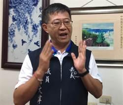 藍嘉義市立委初選登記首日 議員傅大偉登記