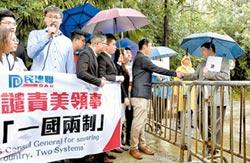 挺香港抗爭 綠營偷渡一黨之私