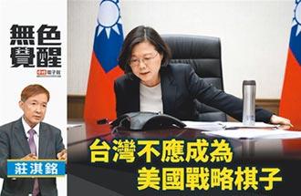 莊淇銘:台灣不應成為美國戰略棋子