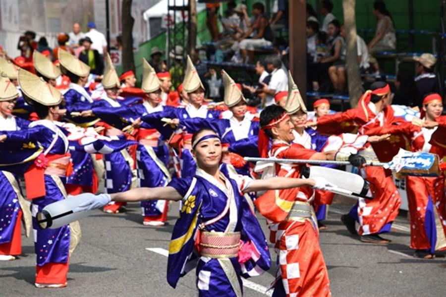 高知夜來祭預計將於8月9日至12日舉行。(高知縣提供)