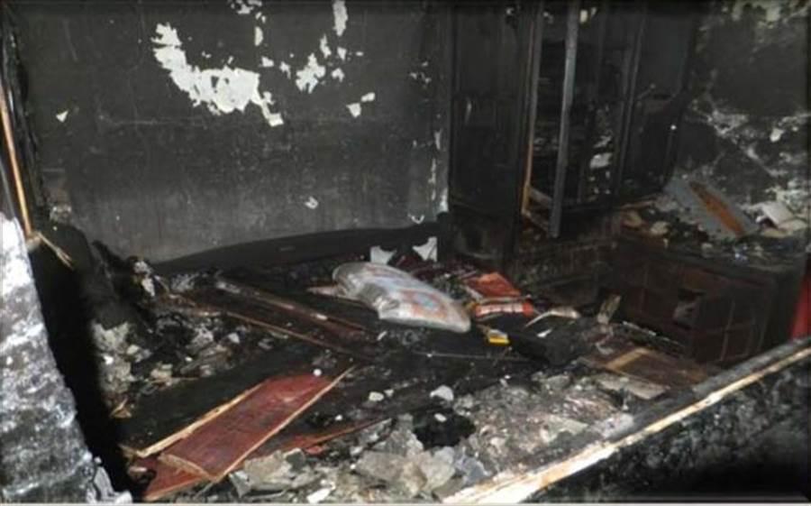 平溪区6月8日发生一起天灯引发的民宅火警,导致屋主无法居住。
