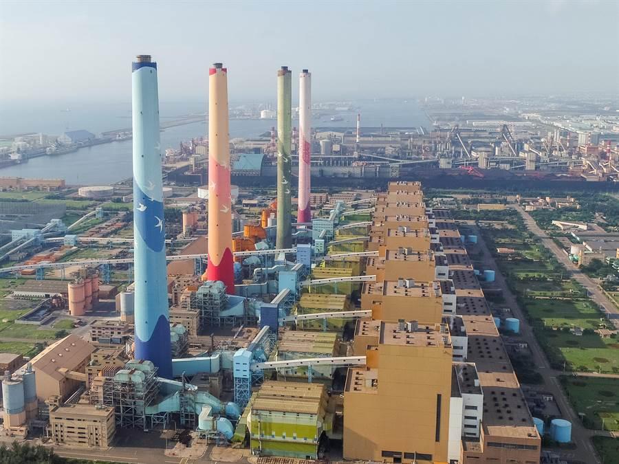 台中市府批台電僅指中火減煤4成衝擊用電,全國新增機組發電卻避而不談。(台中市府提供)