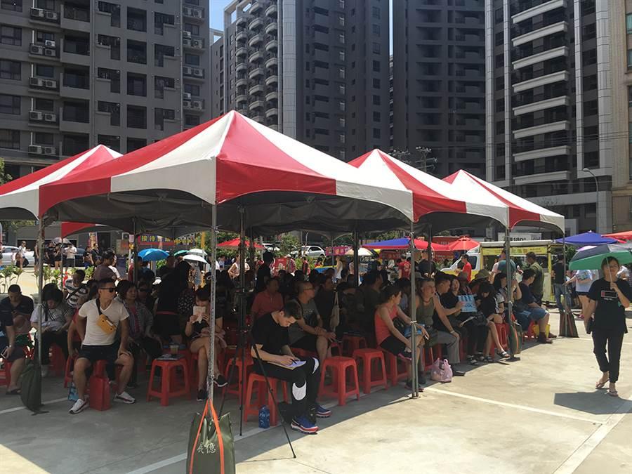「傳佳建設」日前於楊梅【傳佳世紀城】建案旁,舉辦大型親子園遊會