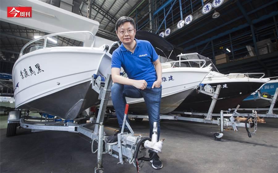 這家員工僅二十人的快艇工廠,把產品賣到國際市場,連越南、柬埔寨警政單位都是客戶,隱身桃園的科建鋁船如何做到?(圖/今周刊)