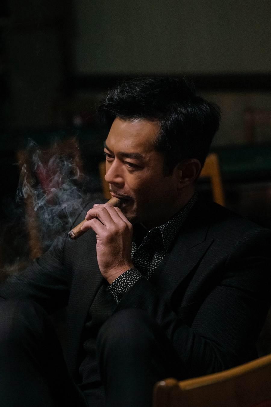 古天樂在《掃毒2天地對決》的劇照。(圖/華映提供)
