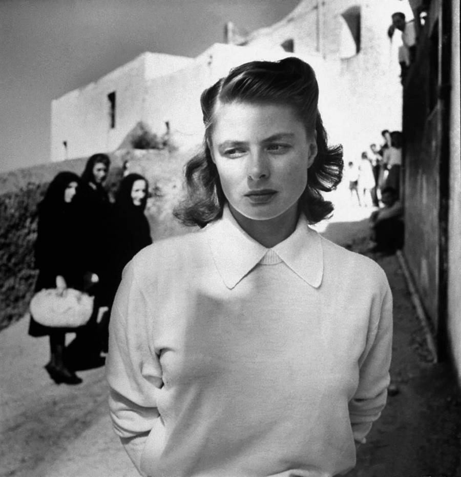 羅塞里尼的作品也吸引了奧斯卡影后英格麗褒曼,兩人從惺惺相惜到結為連理,震驚了當時影壇。(金馬執委會提供)