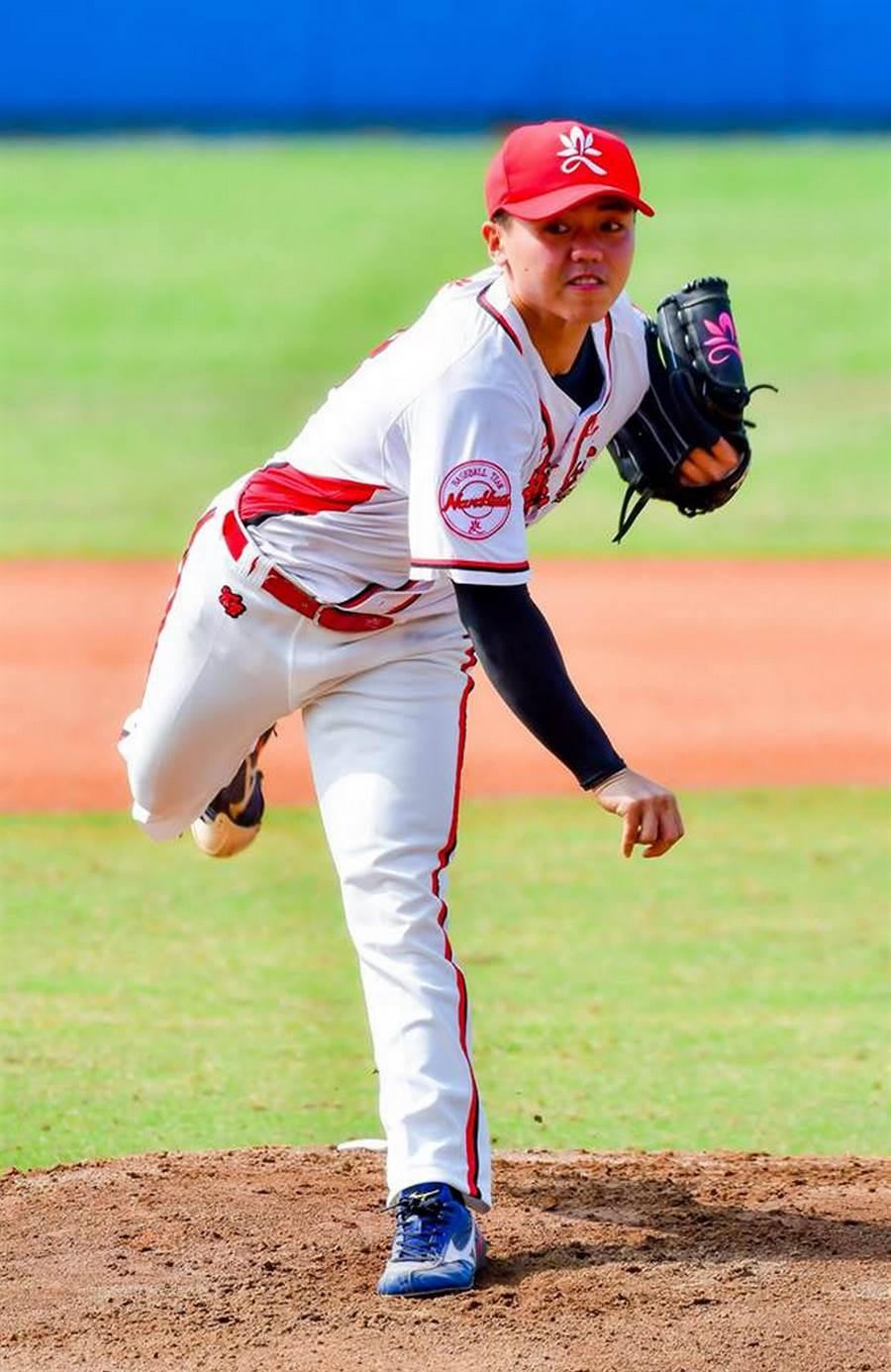 中华职棒选秀, 南华棒球队大满贯六位入选味全龙,图为旅游系三年级投手黄东淯。