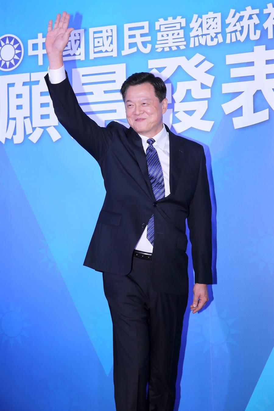 前台北縣長周錫瑋3日出席國民黨總統初選第3場國政願景發表會。(黃世麒攝)