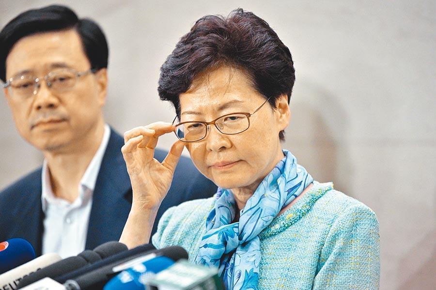 香港行政長官林鄭月娥(法新社)