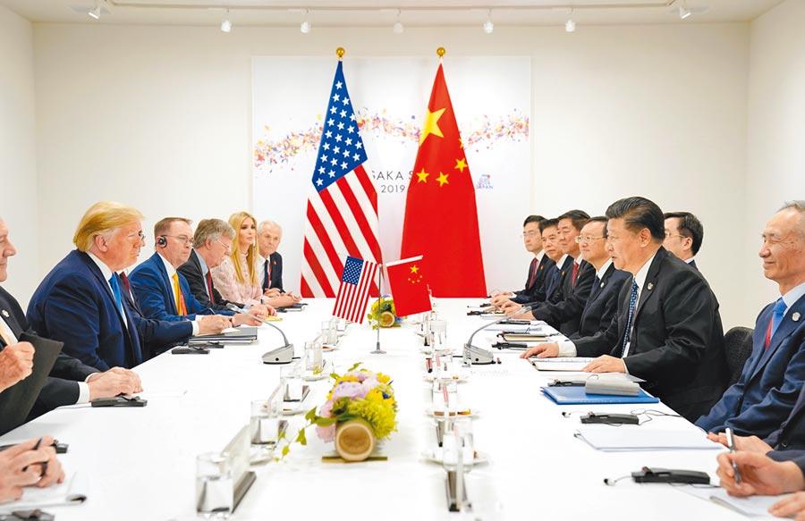 大陸涉外人士透露,大陸國家主席習近平在川習會上花了10分鐘向美國總統川普闡述台灣議題涉及核心利益。(路透)