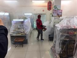 台南防治登革熱 東菜市休市周邊300戶化學防治