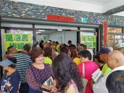 陳水扁台南首場公開簽書會 鄉親力挺
