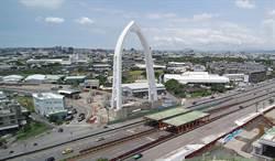 中科路銜接水湳園區豎琴式斜張橋工程超前 建設局爭取3金榮譽