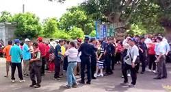 南投酒廠後方將設殯葬區 居民抗議
