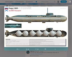 俄間諜潛艇失火 14專家罹難