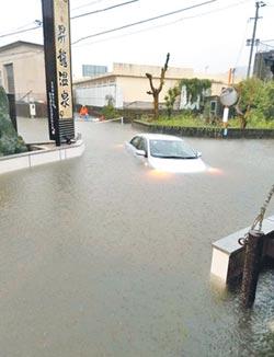 九州豪雨決堤 居民緊急疏散