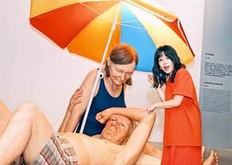 郭修彧看雕塑展嚮往愛 不要轟轟烈烈只要彼此陪伴