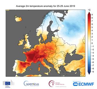 歐洲遇到史上最熱6月 希臘衛城暫停遊客參觀