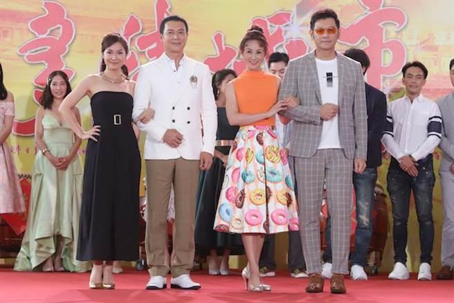 兵家綺(左起)、王燦、李珞晴、陳熙鋒。民視提供