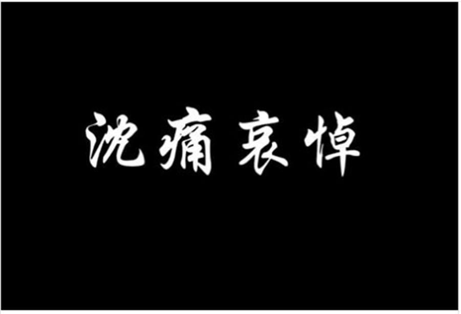 李承翰不治內政部沈痛哀悼(徐國勇臉書擷圖)