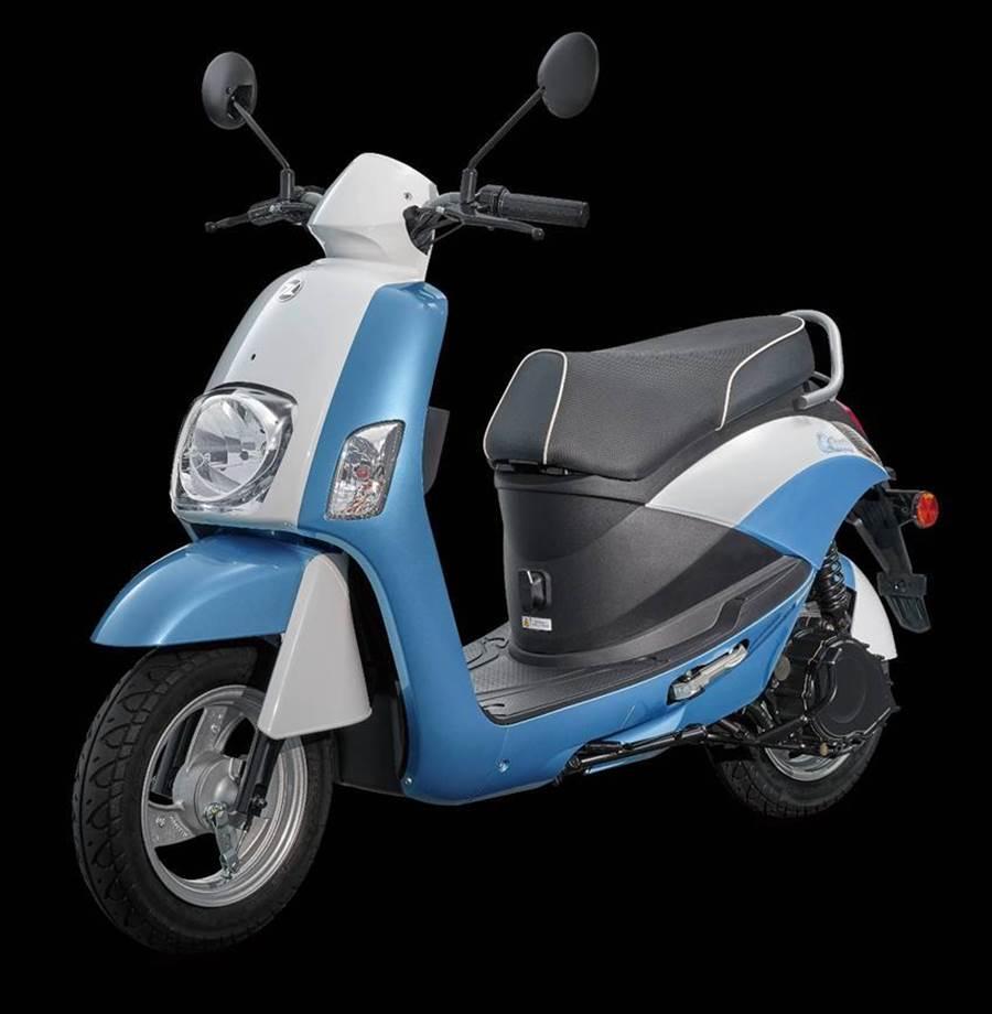 產銷Suzuki品牌機車的台鈴工業,發表與中華汽車合作開發的首款電動機車eReady。(圖/業者提供)