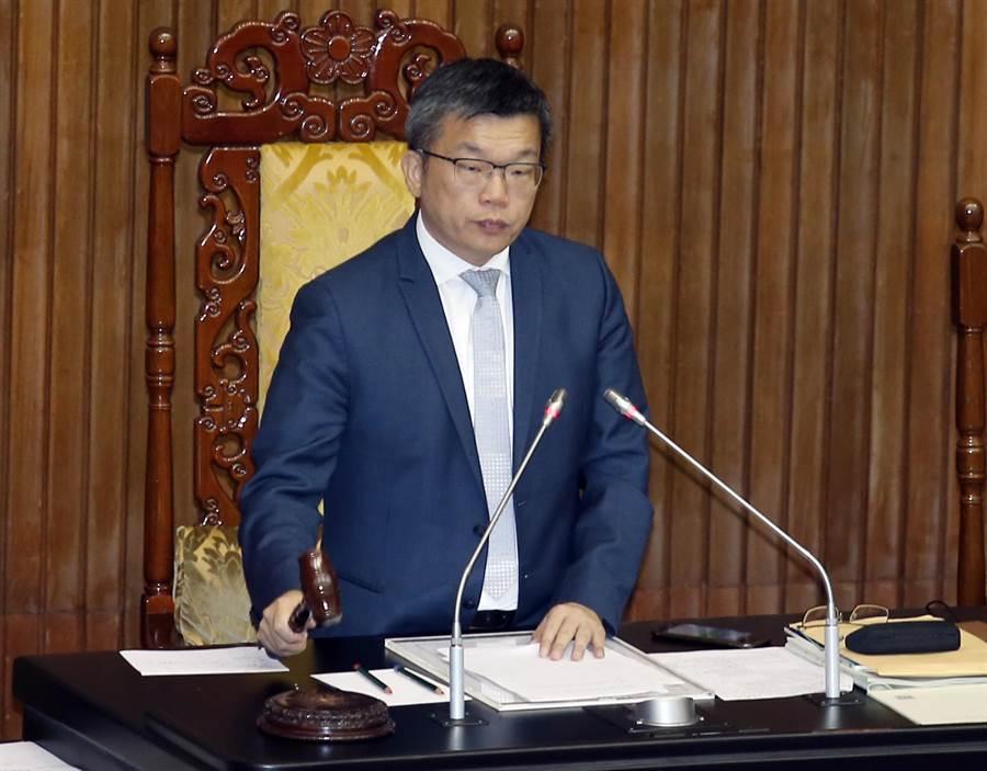 立法院副院長蔡其昌。(資料照,姚志平攝)