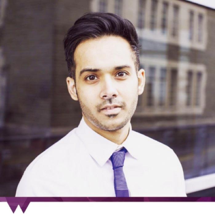 英國華威大學學校代表Amarjeet Mutneja將與英揚留學專業顧問團隊,在大學博覽會中解答入學門檻等相關問題。圖/英揚留學提供