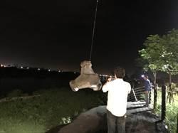 二仁溪大甲堤防滑動 六河局連夜動員搶險