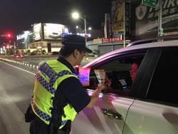 中市警方大執法民酒駕拒測13件