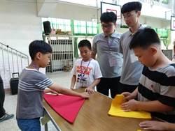 永靖國小樂學夏令營 明道餐旅教作美味三明治