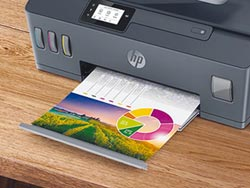 HP 推全新連續供墨印表機