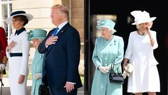 美國第一夫人穿這樣致敬黛妃 讓皇室好尷尬