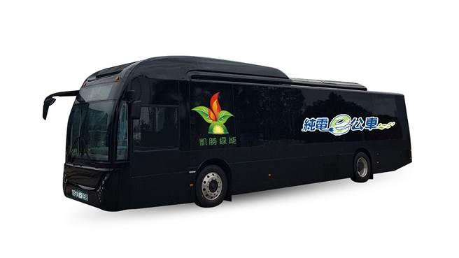 凱勝全新K9DA電巴傳捷報,取得大都會客運、台北客運,總計2.4億元訂單。(凱勝綠能提供)
