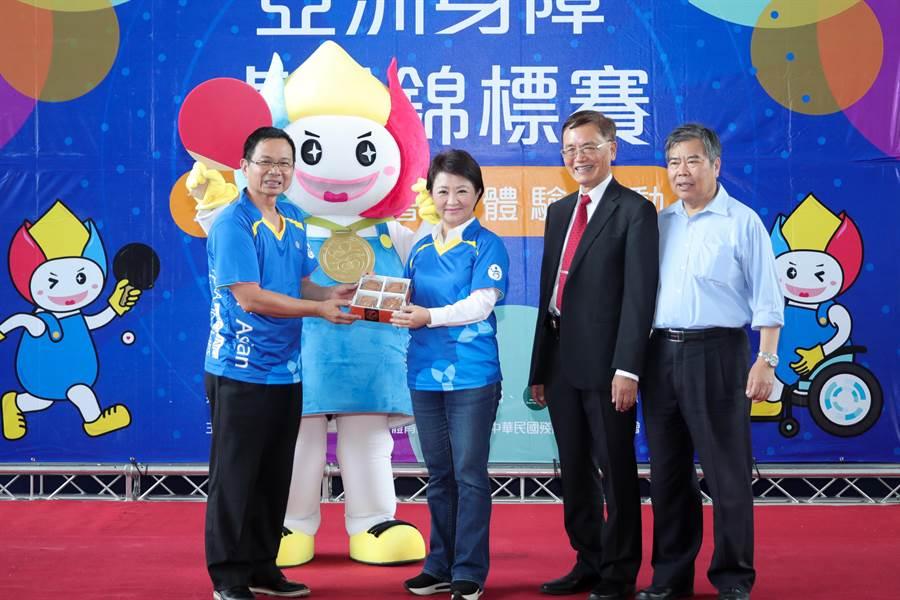 「2019年亞洲身心障礙桌球錦標賽」23日起將在靜宜大學開賽。(盧金足攝)
