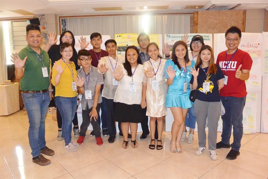 菲律賓團隊「飛鳴福」將前往南投縣國姓鄉展開駐村計畫。(巫靜婷攝)