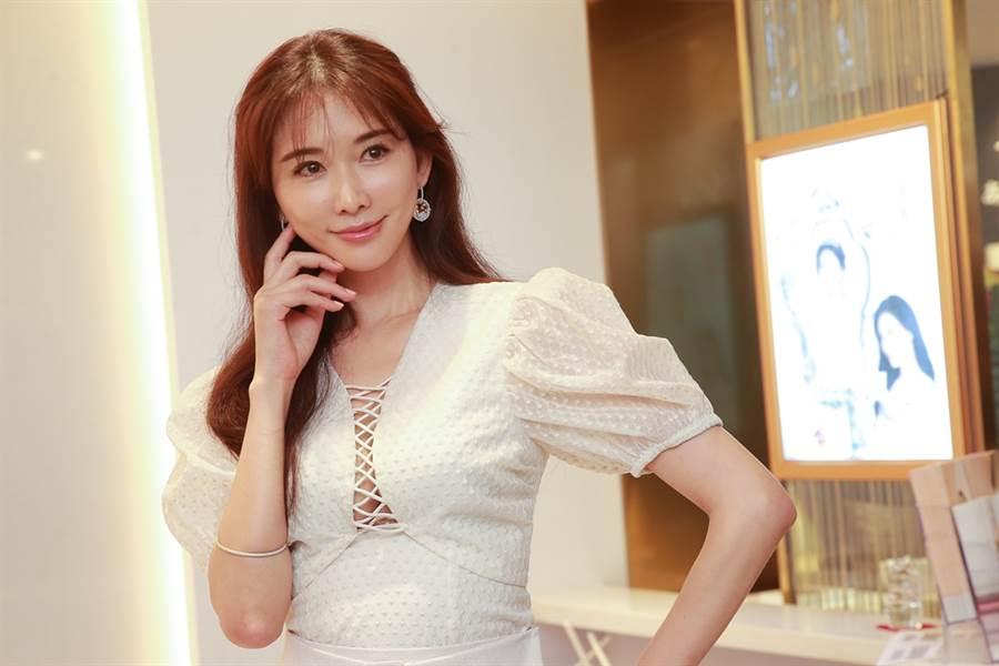 林志玲上月閃婚。(圖/達志影像)