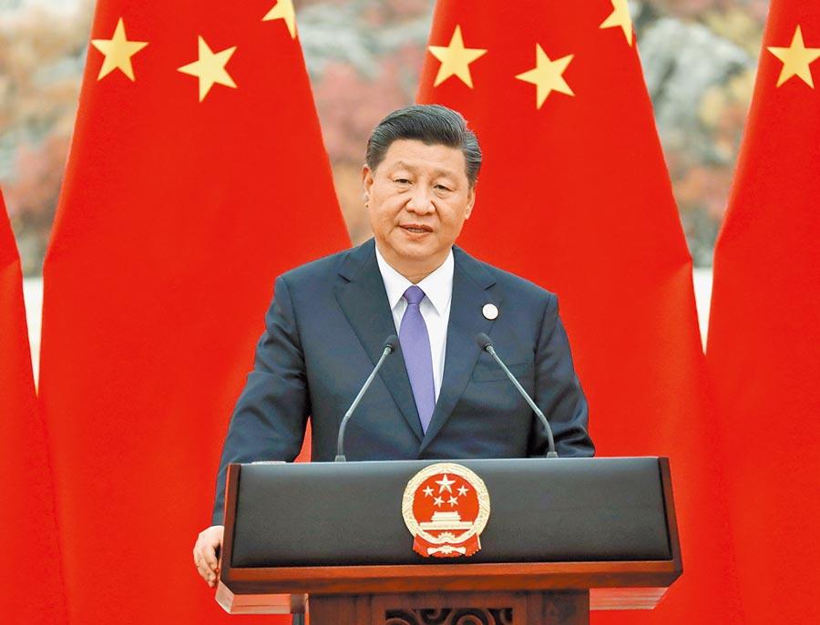 大陸國家主席習近平。(中新社資料照片)