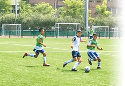 吉爾吉斯vs.台灣 少年足球交流