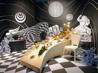 瘋狂下午茶、虛擬鏡屋!愛麗絲夢遊奇境體驗展追夢趣