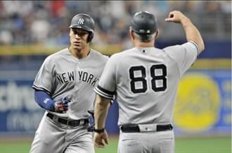 MLB》洋基連兩天延長賽勝 光芒對手也稱讚
