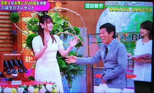 深田恭子近日被發現悄悄復胖,粗腰現形。(取自日網)
