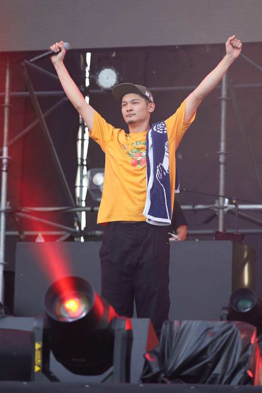 Leo王在高雄啤酒音樂節開唱。(寬寬整合行銷提供)