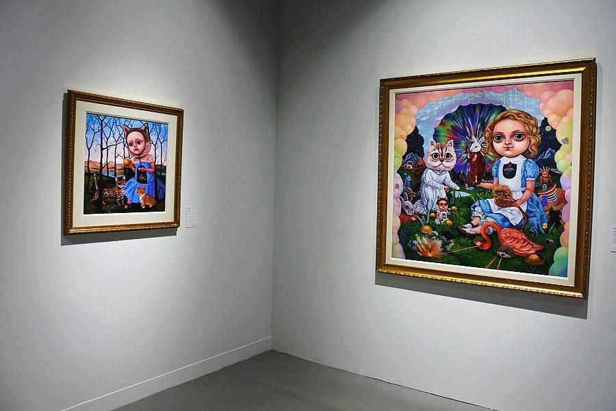 台湾艺术家「张嘉颖」以爱丽丝为灵感的作品。